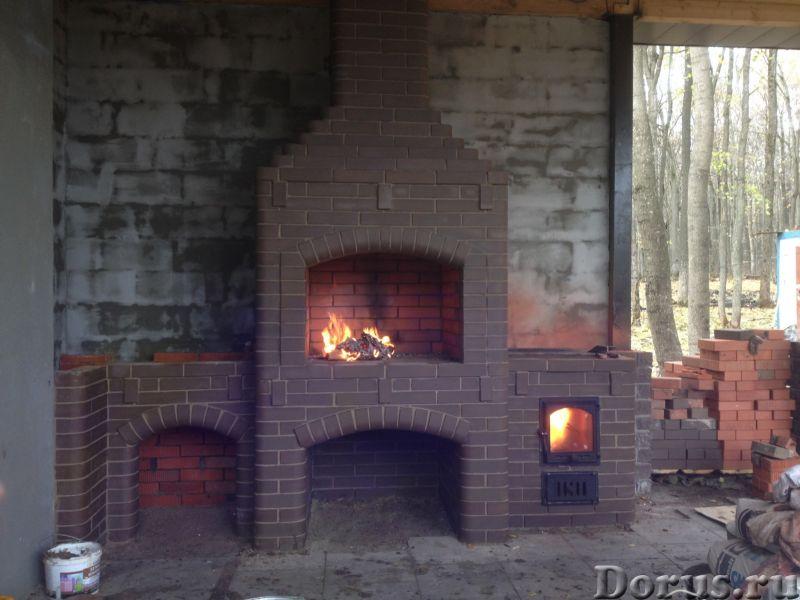 Камин, барбекю, голландка, русская печь, банная печь - Строительные услуги - Выполняю кладку печных..., фото 1