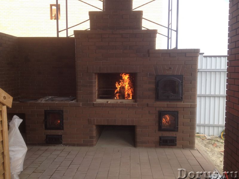 Камин, барбекю, голландка, русская печь, банная печь - Строительные услуги - Выполняю кладку печных..., фото 5