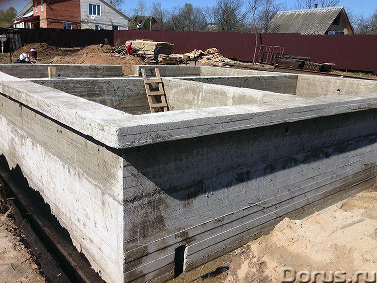 Строительство фундамента в Пензе профессионально, качественно - Строительные услуги - Если у Вас ест..., фото 1