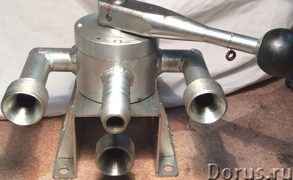 Кран четырехходовой ДКТ-222.12 - Запчасти и аксессуары - Кран четырехходовой ДКТ-222.12 предназначен..., фото 1
