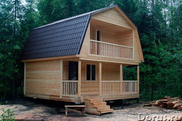 Строительство каркасного домика 5х6 на даче в Пензе - Строительные услуги - Домик дачный каркасный у..., фото 1
