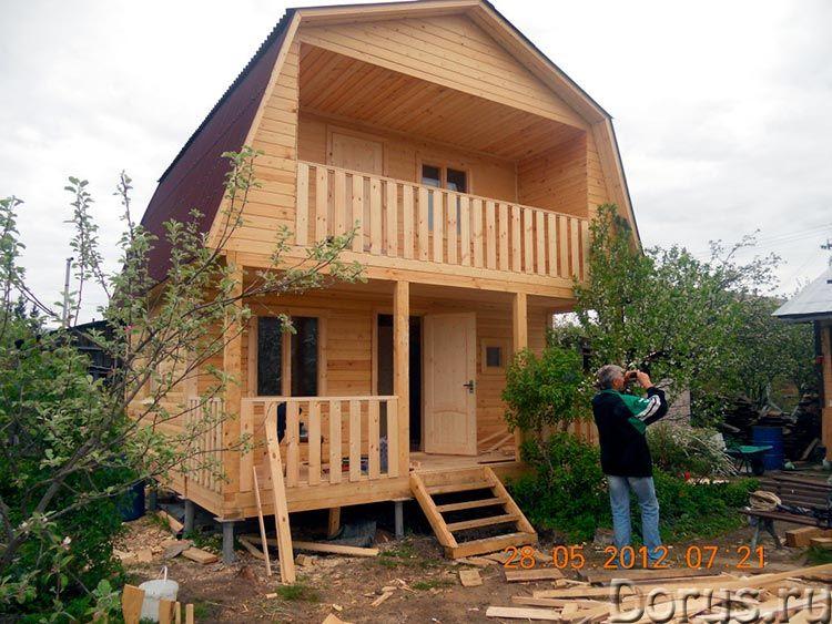 Строительство каркасного домика 5х6 на даче в Пензе - Строительные услуги - Домик дачный каркасный у..., фото 5