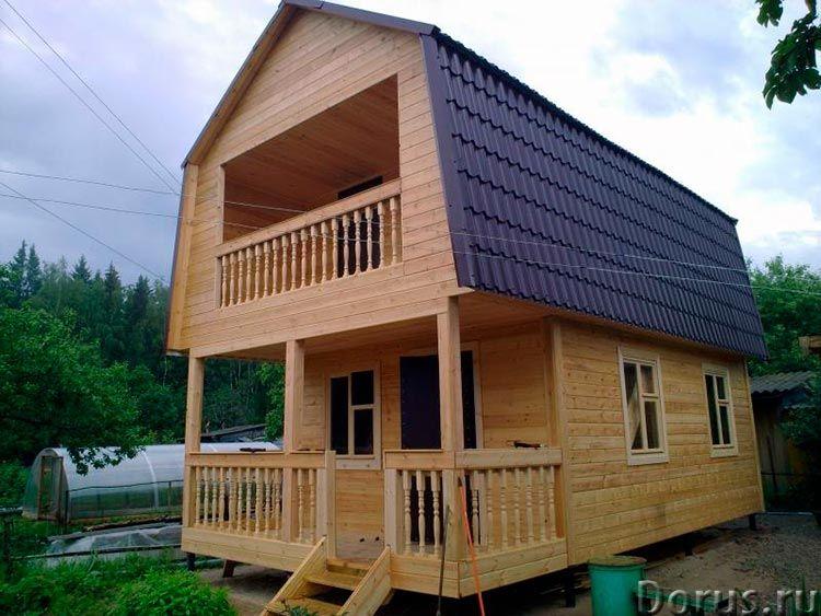 Строительство каркасного домика 5х6 на даче в Пензе - Строительные услуги - Домик дачный каркасный у..., фото 6