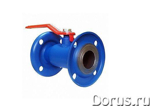 Кран шаровой битумный ДУ-100 - Запчасти и аксессуары - Кран цельносварной полнопроходной фланцевый (..., фото 1